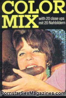Vintage 70s danish black hammer color climax