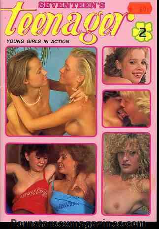 Vintage dutch seventeen magazine final