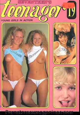Vintage club seventeen magazine