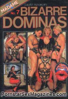 Bizarre Dominas 07 sex magazine - Domina Lady taming Slaves ...